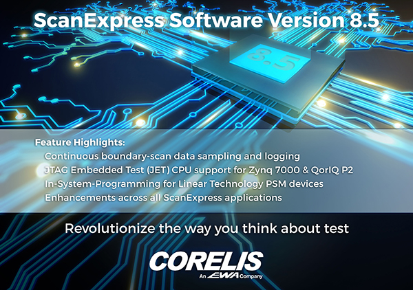 se 85 image2 - Corelis Releases New CD Version 8.5 Boundary-Scan Tool Suite