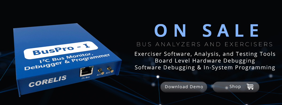Corelis Bus Analyzers and Exercisers