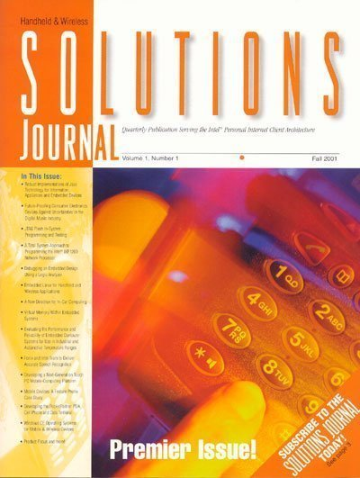Intel Solutions1 - Intel features Corelis' ScanPlus product in its Handheld and Wireless Solution Journal