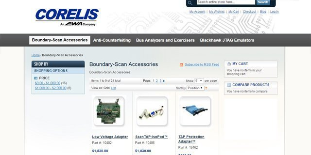 corelis store 640x320 - How To Buy JTAG Boundary Scan Products By Corelis