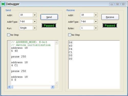 CAS 1000 Debugger1 1 - CAS-1000-I2C/E Bus Analyzer