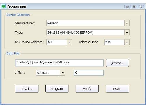 CAS 1000 Programmer1 - BusPro-I I2C Bus Analyzer