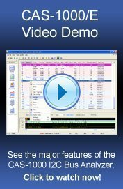 CAS 1000 video bannr1 - I2C Demo Software Download