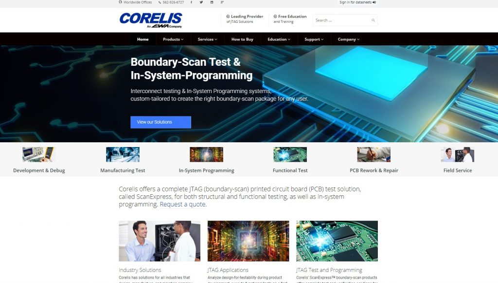 coreliswebsite 1024x581 - Coreils Unveils New Website Featuring JTAG Products, Services, & Education