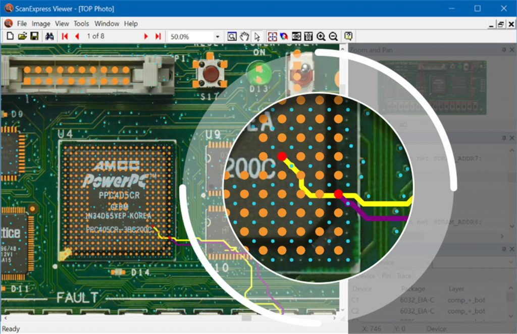 ScanExpress Viewer magnifying glass 1024x662 - ScanExpress™ JET Advanced Diagnostics for Automotive